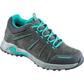 Mammut Convey Low GTX - Chaussures Femme - gris/turquoise